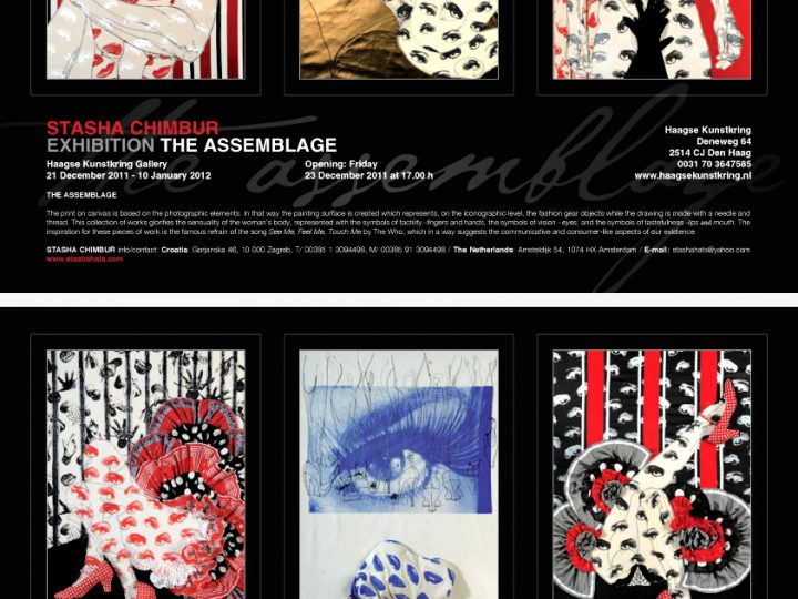 """THE ASSEMBLAGE """"SEE ME, FEEL ME, TOUCH ME"""""""